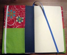 The tutorial I use for Moleskine covers-