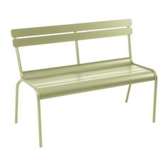 We are the partner for Fermob in New Zealand. Discover the Fermob Luxembourg Bench with Back here. Visit the NZ Fermob experts! Extruded Aluminum, Aluminium, Outdoor Seating, Outdoor Chairs, Outdoor Spaces, Outdoor Living, Garden Furniture, Outdoor Furniture, Bench With Back