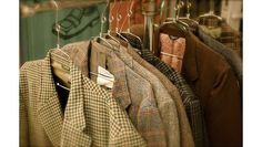 Blog I found about sewing menswear... written by a man. :)  Will be a great resource for teaching the boys sewing.