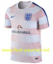 Training De Foot Angleterre Rose PRE-MATCH 2016 2017 Moins Cher