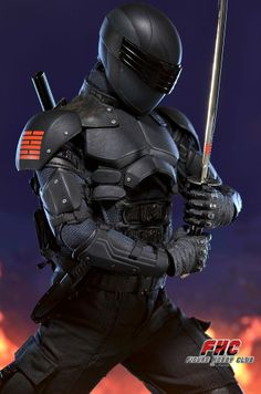 G.I. Joe Retaliation: Snake Eyes Collectible Figure Final Product