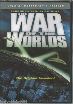 THE WAR OF THE Worlds DVD 2013 Gene Barry Director Byron Haskin | eBay