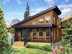 If you're worried about building a tiny home that feels a bit too cramped, you should consider an open concept design! It's a chic, modern style, and a great way to offer a continuous, uninterrupted flow all throughout your home.