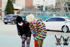 Zelo and Yong Guk
