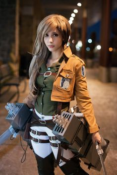 Attack on titan • Jean Kirstein cosplay genderbendered