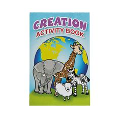 """Creation"" Fold-Up Activity Sheets - OrientalTrading.com"