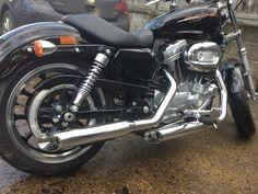 Remus slip-ons to Harley-Davidson Sportster 883 Superlow