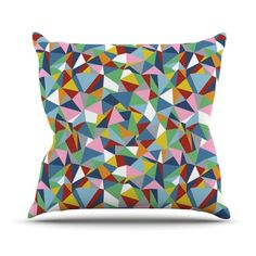 #triangles #abstract #abstraction #geometric #projectm #project #kess #kessinhouse #artforthehome #outdoor #pillow