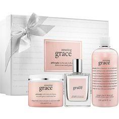 Philosophy Amazing Grace Gift Set found on Polyvore
