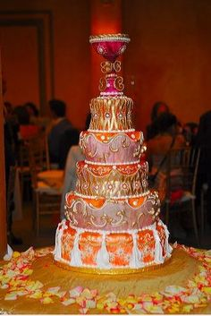 gorgeous indian wedding cakes | My Wedding Cake, via Flickr. INDIAN CAKE