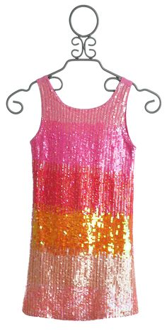 Flowers By Zoe Tween Sparkle Pink Sequin Party Dress $122.00