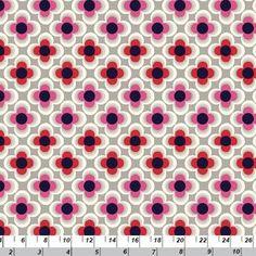 Copenhagen Print Factory House Designer - Copenhagen Classics - Retro Flowers in Pink