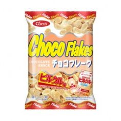 Chocolate flakes   http://www.nissincisco.co.jp/product/lineup/chocoflake_detail.html?product_id=4514