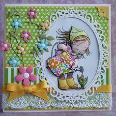 Spring Card - Debby