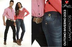 Na coleção inverno 2013 da People's Jeans, o diferencial das peças está nos detalhes. Veja por exemplo os adereços em dourado desses lançamentos femininos e masculinos. Amou?