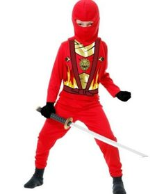 Ninja Avengers Series 4 Costume Halloween Fancy Dress for sale online Ninja Halloween Costume, Halloween Costumes For Teens, Halloween Fancy Dress, Red Costume, Halloween 2018, Baby Halloween, Avengers Costumes, Boy Costumes, Superhero Fancy Dress