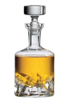 $138.99-$155.00 The Ravenscroft Beveled Blade is a massive hand cut gem. This is the perfect old world spirits decanter. It will dazzle the most discriminating enthusiast. Brilliant lead-free crystal, hand cut, in by old world European craftsmen. Ravenscroft Crystal Decanters are produced from expensive ancient mineral deposits that eliminate the need to add lead as a clarifying agent. This is p ...