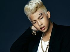 BTS - Photo concept 1 pour Dark Wild - Rap Monster (1)