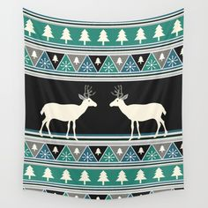 Available in three distinct sizes, our Wall Tapestries are made of 100% lightweight polyester with hand-sewn finished edges. Featuring vivid colors and crisp lines, these highly unique and versatile tapestries are durable enough for both indoor and outdoor use. Machine washable for outdoor enthusiasts, with cold water on gentle cycle using mild detergent - tumble dry with low heat. #homedecor #wallart #ChristmasDecor @society6