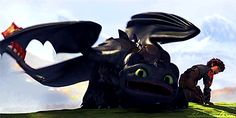 The relationship between Toothless and Stormfly is so funny
