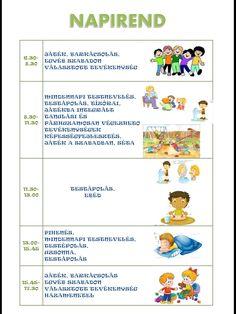 Napirend-Hetirend tábla Activities For Kids, Kindergarten, Homeschool, Teaching, Education, Children, Blog, Google, Parties Kids
