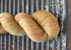 Merino/Bamboo Superwash Fingering - FALKLAND...'Peanut Brittle'