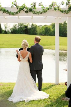 An Outdoor Country Wedding In Nashville, TN