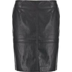 comma, Spódnica ołówkowa  black Leather Skirt, Boho, Skirts, Fashion, Moda, Leather Skirts, Fashion Styles, Bohemian, Skirt