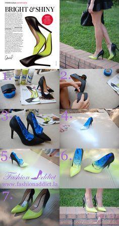 Nueva vida a esas zapatillas que amas