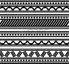 Maoris bracelet polyn�sien tatouage style photo
