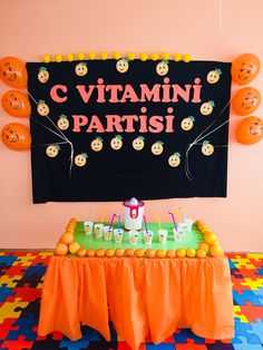 Fruit Birthday, Orange Fruit, Preschool Activities, Easy Crafts, Classroom, Party, Decor Ideas, Photos, Vitamins