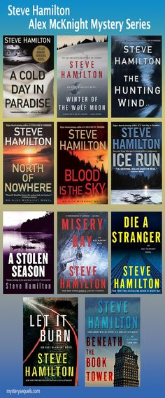 Steve Hamilton - Alex McKNight mystery book series in order of publication