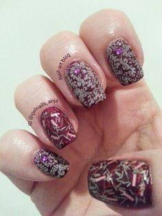 IBD nail art Nail Art 2014, Gel Polish, Nail Art Designs, Nails, Painting, Beauty, Finger Nails, Ongles, Gel Nail Varnish