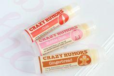Crazy Rumors lip balm review: Temporary Secretary