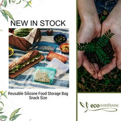 Plastic Free July, No Plastic, Food Storage, Bag Storage, Alternative To Plastic Bags, Amazing Greens, No Waste, Snack Bags, Sous Vide