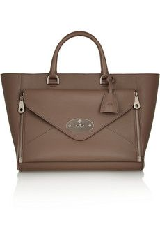 Mulberry The Willow leather tote   NET-A-PORTER