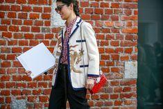 Direttamente dallaMilano Fashion Week, in programma dal 22 al 28 febbraio, tutto il meglio dello street style avvistato t