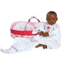 Adora Nurserytime Baby pop getinte huis/bruine ogen (complete set)
