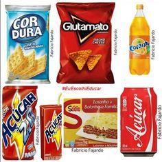 """🚨🚨🚨 A obesidade é um grande problema mundial, e a obesidade infantil é uma realidade preocupante e a qual devemos unir esforços para combater.  .  Na infância a obesidade tem haver, na maioria das vezes com a alimentação. Hoje parece que por buscarmos a praticidade estamos cada vez mais introduzindo """"alimentos"""" industrializados na dieta das crianças, mas as vezes não nos atentamos para a composição destes. Por uma alimentação saudável, analise a composição do que estamos oferecendo cada…"""