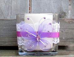 Votive Candle Holder / Bling Wedding by CarolesWeddingWhimsy, $8.00