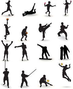 Vectores libres de derechos: Sports
