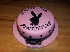 Playboy bunny cake