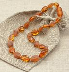 Baltic Amber Teething Necklaces- they also have healing amber necklaces and bracelets for adults.