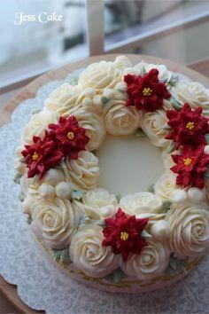 Jess cake ::::: 크리스마스 이브 교회파티 케익 ::::: : 네이버 블로그