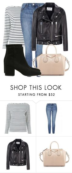 """Untitled #4205"" by beatrizvilar on Polyvore featuring Yves Saint Laurent, Topshop, Acne Studios, Givenchy and Strategia"