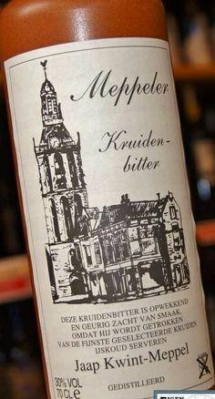 Meppeler kruidenbitter Holland, Dutch, Memories, Country, City, Bottle, Pretty, The Nederlands, Memoirs