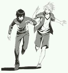 Takeru Fujiwara and Riku Yagami || Prince Of Stride