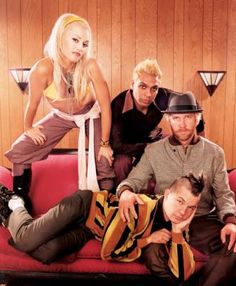 No Doubt, another favorite group of mine that I grew up listening to as a kid in the 90's, in my teen years (early 2000's) and now as an adult. Gwen Stefani is a bad ass not to mention.