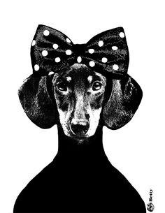 Poster Betty by the Swedish designer Lisa Bengtsson
