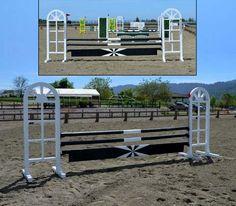 Jumps West | Custom Horse Jumps | Walls and Freestanding Filler Accessories
